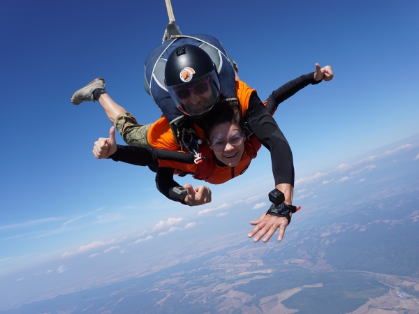 Какво трябва да знаем скока с парашут Тандем?
